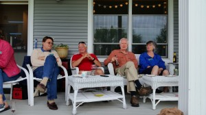 2016 GMT BBQ at Rick and Val's on South Hero Island