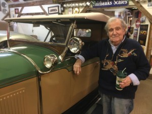 David Steinman and 1927 Packard