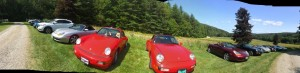 Pano shot 10 or 12 cars HIGH REZ
